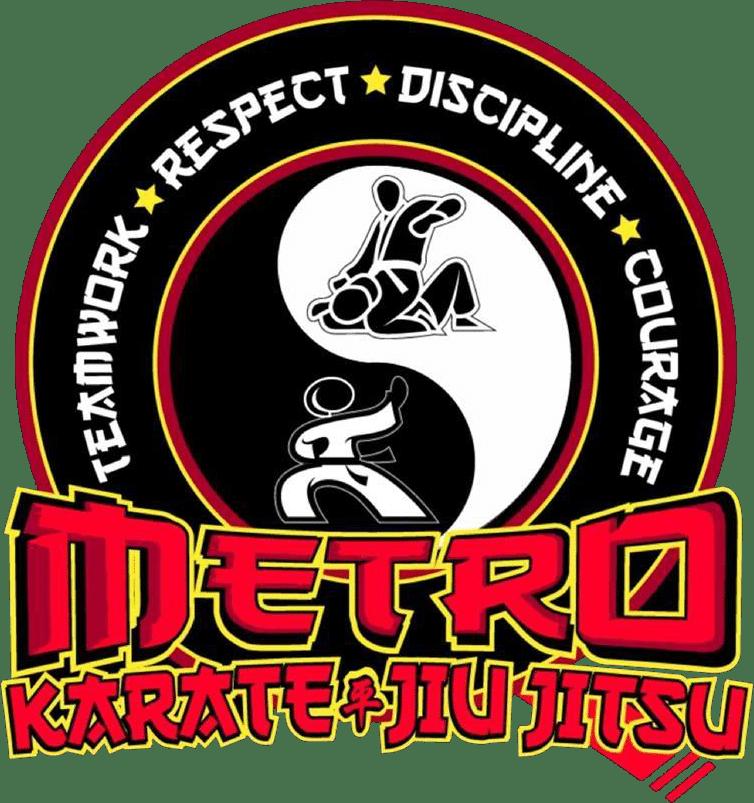 Metro Karate & Jiu Jitsu Logo